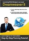 Learn Dreamweaver 8 Step-by-step Training Tutorial -