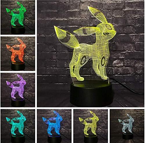 new Neuheit Neuheit 2019 lamparas Go Action 3D RGB Lampe Eevee Dragon Pokeball Ball Bulbasaur Bay Geschenk Nachtlicht LED