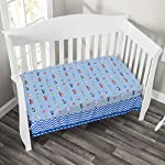 EVERYDAY-KIDS-Baby-Boy-Fitted-Crib-Sheet-Police-Fire-and-Rescue-100-Soft-Microfiber-Breathable-and-Hypoallergenic-Baby-Sheet-Fits-Standard-Size-Crib-Mattress-28in-x-52in-Nursery-Sheet