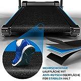 Kinetic Sports KST4600FX Laufband klappbar elektrisch 1100 Watt leiser Elektromotor 12 Programme, bis 120kg, GEH- und Lauftraining, Tablethalterung, bis 12 km/h, Steigung verstellbar - 6