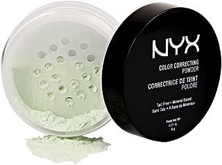 NYX PROFESSIONAL MAKEUP Color Correcting Powder, Green, 0.21 Ounce