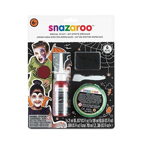 Snazaroo - Kit maquillaje caras efectos especiales
