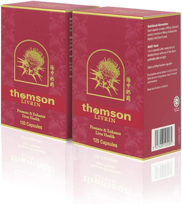thomsonhealth Livrin Milk Cheap super special price Thistle Extract 300mg Sily OFFicial mail order of Capsules