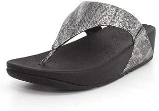 Womens Lulu Shimmer Print Thong Sandal