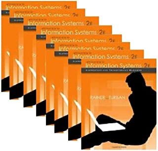 Classroom Set 8 copies ISBN 0470169001 Introduction to Information Systems: Supporting and Transforming Business
