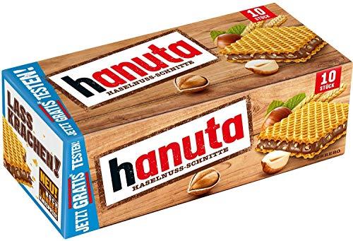 Hanuta - Pack of 10 Wafers (220 gram)