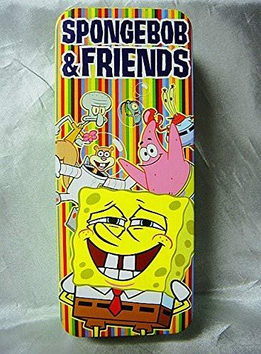 Burger King Spongebob and Friends 2004 Reversible Watch in Collectible Illustrated Tin