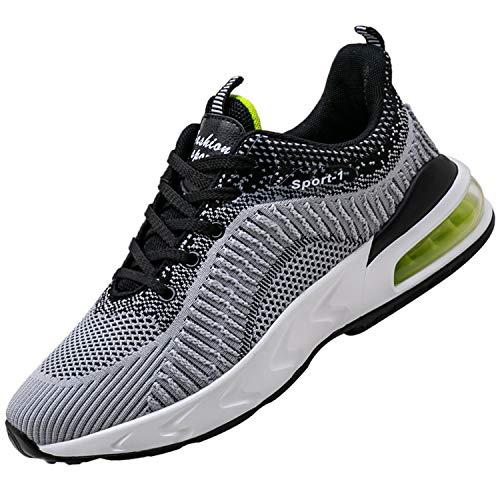 Unitysow Zapatillas de Atletismo para Hombre Calzados para