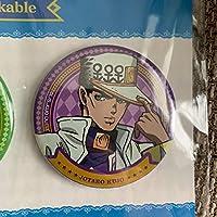 ジョジョの奇妙な冒険 ダイヤモンドは砕けない 第3部 缶バッジ バラ 空条承太郎