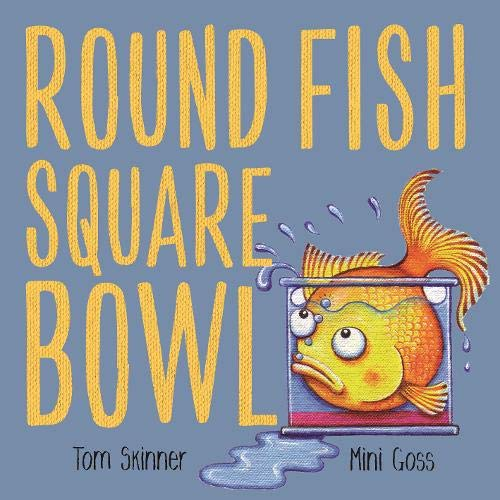 Round Fish Square Bowl