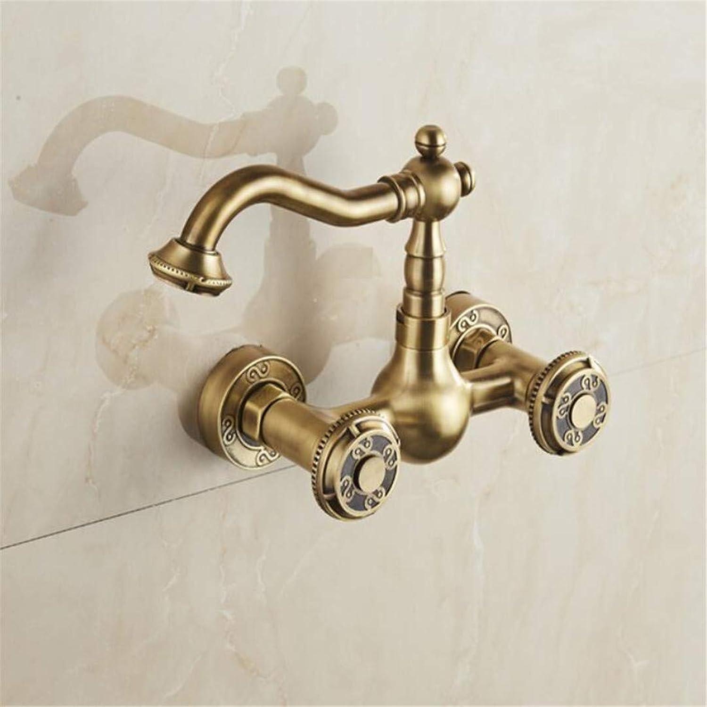 Basin Faucet Brass Finish Kitchen Sink Bathroom Basin Faucet