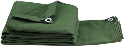 YANQ Tarpa Heavy Tarps Heavy Duty Imperméable Bache Vert Réversible - avec Prougeection UV pour Camping en Plein Air Camping RV Bache Et Bache Extérieur Bache (Couleur   Vert, Taille   300  400cm)