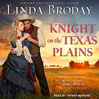 Knight on the Texas Plains audiobook cover art