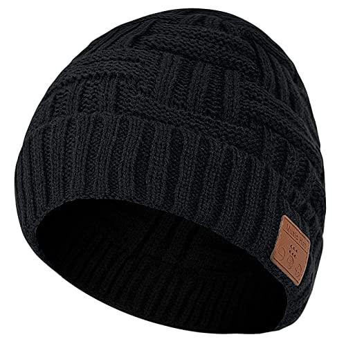 COTOP Cappello Bluetooth Regalo Donna Uomo, Idee Regalo Natale Berretto Bluetooth 5.0 Musical Cappellino con Cuffie e, Regali Natale Originali Cappello per Jogging, Ciclismo Sportivi