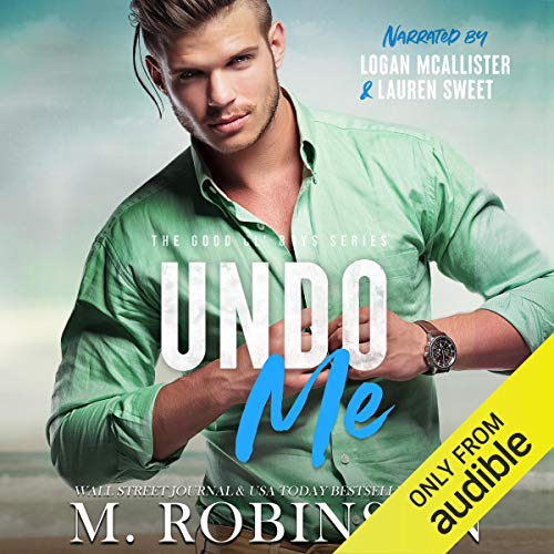 Undo Me Audiobook By M. Robinson cover art