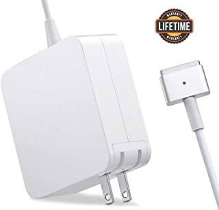 Mac Book Pro Charger, 60W Magsafe 2 T-tip Power Adapter Charger Compatible with MacBook Pro 13 Inch(2012-2015)
