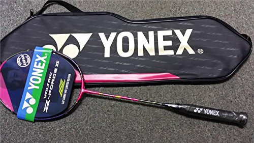 YONEX Lee Chong Wei Voltric Z-Force II Racket, Strung with Cover, Choice of String (BG 66 Force, 26)