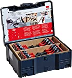 Bessey KLI-S Kliklamp Systainer Set with 16 Clamps, Silver, teilig