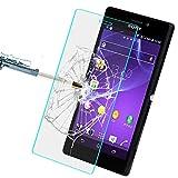 Nutbro Sony M2 Handyhüllen Sony Xperia M2 Hülle Premium Leder Blumen Muster Slim Flip Wallet Hülle für Sony Xperia M2