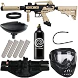 Action Village Tippmann Cronus Epic Paintball Gun Package Kit - Basic & Tactica (Tan Tactical)
