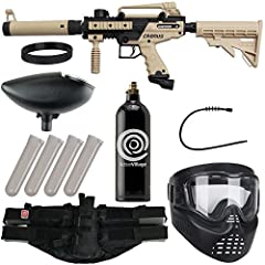 Durable and reliable, the Cronus Paintball Gun is a rugged, high-performance marker designed to match your needs. A high-impact composite body, in-line bolt system and internal gas line ensure that it retains functionality in action, while front and ...
