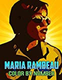 Maria Rambeau Color By Number: Former United States Air Force Pilot Marvel Comic Character Illustration Color Number Book For Fans Adults Stress Relief Gift