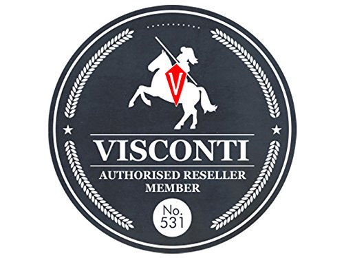 Visconti Unisex Keyring Leather Wallet Purse, Key Holder Case Coin Pouch - MZ19 (Red)