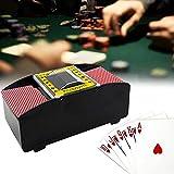 Yeemoi Automatic Card Shuffler 2 Deck, Battery Operated Electric Card Shuffler Machine, for Family Party Poker/Blackjack