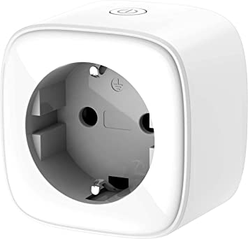 D-Link DSP-W218 Enchufe Inteligente Wi-Fi con Control de Consumo eléctrico, Mini, Funciona con Amazon Alexa (Echo y Echo Dot), Google Home, Control Remoto de Encendido y Apagado Mediante App Gratuita