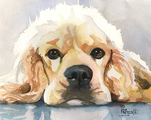 """Cocker Spaniel Art Print 