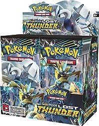 top 10 100 pokemon packs Pokemon 820650814556TCG: Sun  Moon Lost Thunder Booster Box (set of 36)