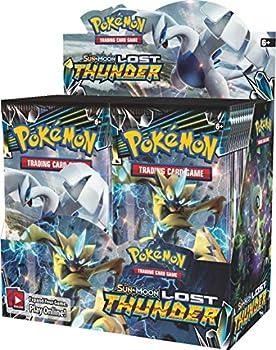 Pokemon 820650814556 TCG  Sun & Moon Lost Thunder Booster Box  Pack of 36