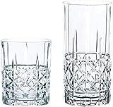 Spiegelau & Nachtmann, 12-teiliges Bargläser-Set, Je 6 Whisky- und Londrink-Gläser, Kristallglas,...