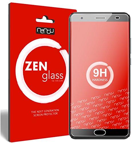 ZenGlass Flexible Glas-Folie kompatibel mit Oukitel K6000 Plus Panzerfolie I Bildschirm-Schutzfolie 9H I (Kleiner Als Das Gewölbte Bildschirm)