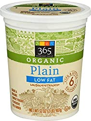 365 Everyday Value, Organic Low Fat Yogurt, Plain, 32 oz