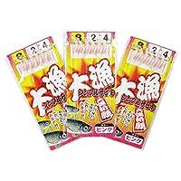 TAKAMIYA(タカミヤ) 大漁シンプルサビキ 3枚組 針8号-ハリス2号 ピンク