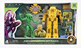 Alien Collection Xenomorph Attack - Space Colony Defense Alien Battle Set