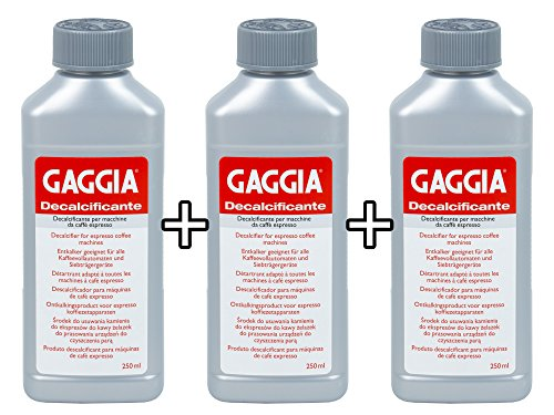 GAGGIA Entkalker Decalcificante flüssig 250ml - ersetzt Baby Cleaner Pulver (3x250 ml)