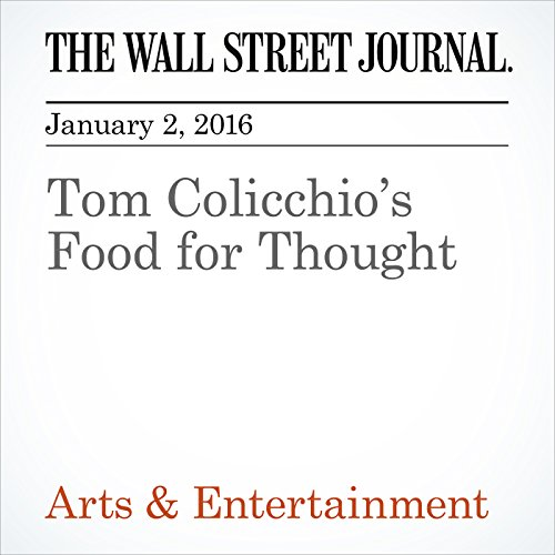 Tom Colicchio's Food for Thought audiobook cover art