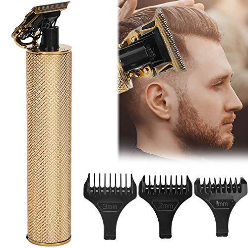 Cortadora de barba, cortadora de cabello eléctrica estable, carga rápida, sin dientes...
