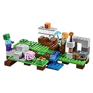 Amazon.co.jp - レゴ マインクラフト アイアンゴーレム 21123