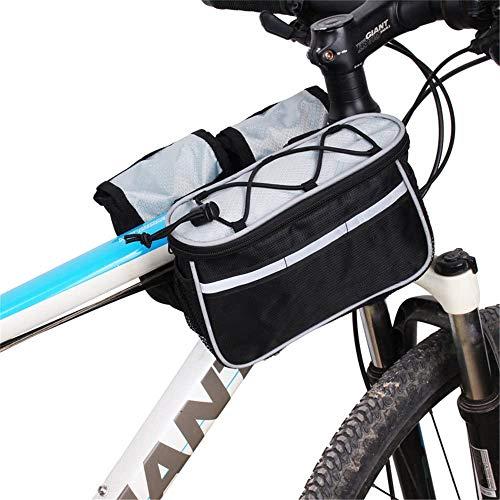 Bolsa de bicicleta Bicicleta bolsa de deporte al aire libre el equipo de ciclo de pantalla táctil marco de la bolsa delantera de la bici de montaña MTB Bolsa de sillín de bicicleta bolsa for bicicleta