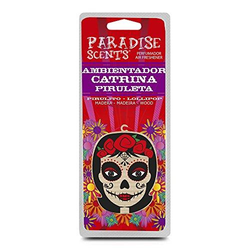 Paradise PER60003 Perfumador Catrina Piruleta Madera
