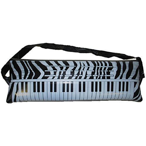 Aufblasbares Keyboard 60cm Instrumente Musikinstrumente für Anfänger Piano Partydekoration Kindergeburtstag