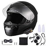 AHR Run-B Bluetooth Motorcycle Modular Helmet...