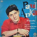 Antiguo Vinilo - Old Vinyl : PAUL ANKA : Es mejor (C'est si bon); Pigalle; Bajo el cielo de Paris; Las hojas muertas
