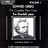 V 1: Complete Piano Music by EDVARD GRIEG (1994-03-25)