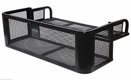 ATV UTV Universal Rear Drop Basket Rack Steel Cargo Hunting Titan DDB2010