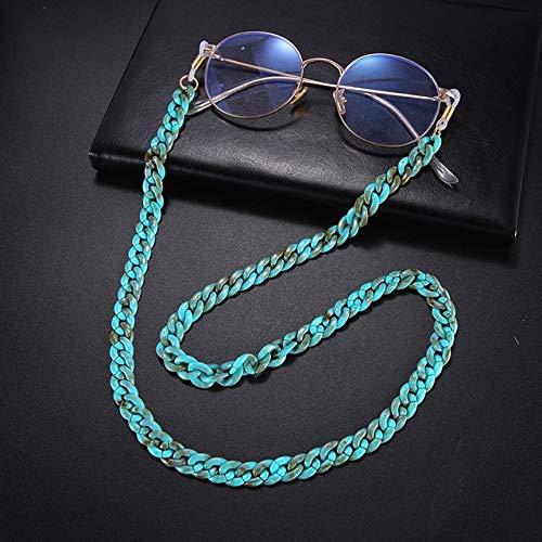 Cordón Gafas de Sol Cadena Acrílico Lentes de Lectura Cadenas Colgantes Cadenas para el Cuello Cordones Soporte Correa para anteojos