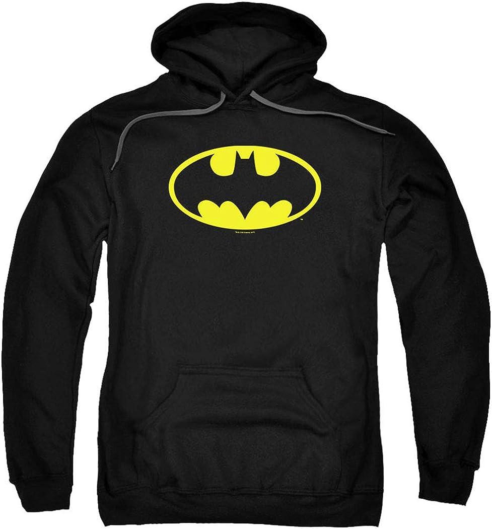 Popfunk Classic 40% OFF Cheap Sale Batman Pull-Over Hoodie Stickers Sweatshirt Co Ranking TOP7